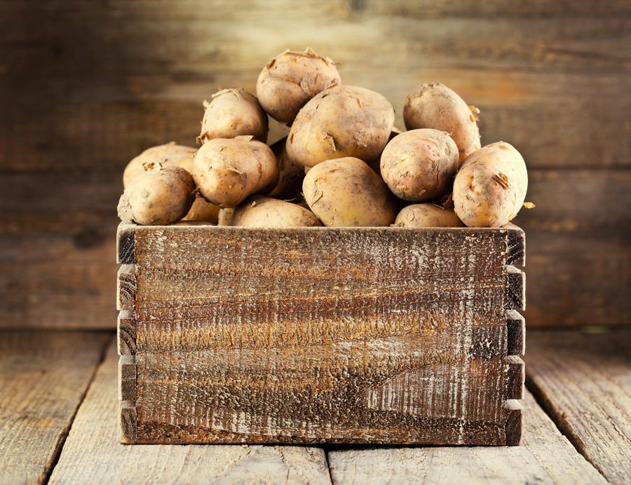 Thai-Würzsalz Kartoffeln