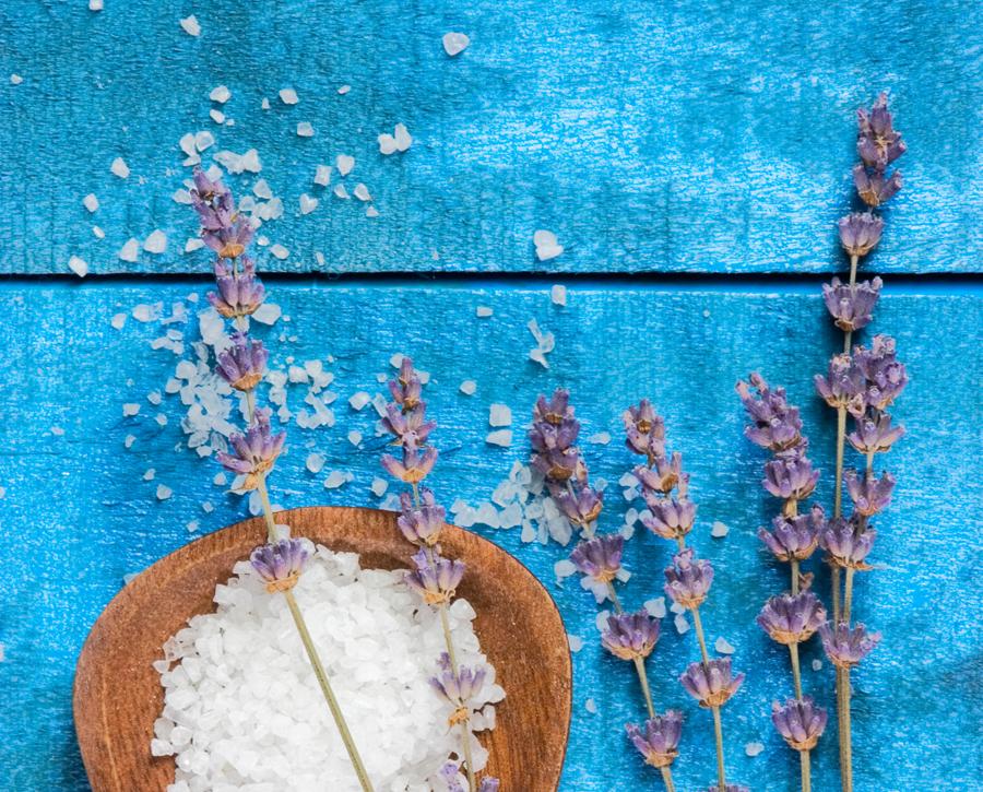 Lavendelsalz