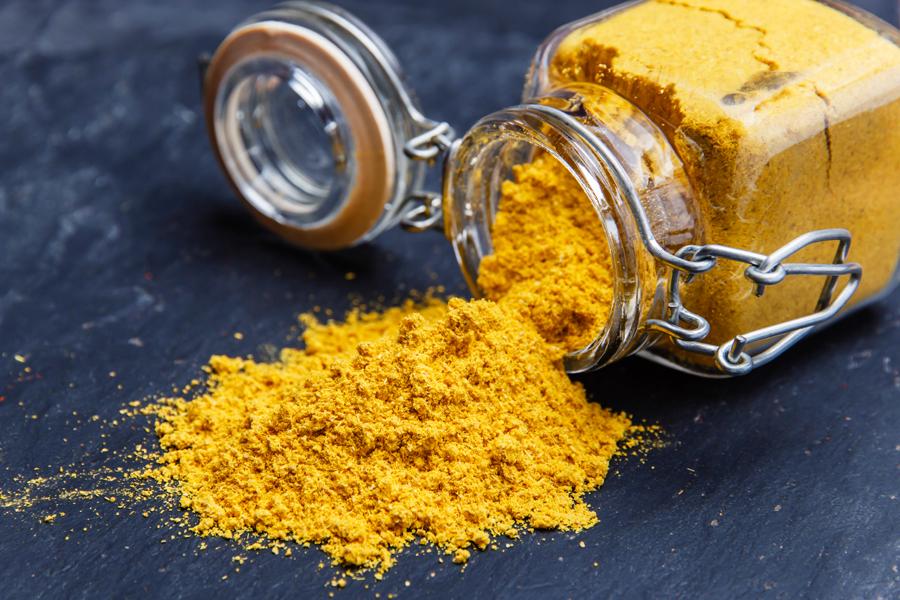 Flor de Sal Curry-Salz mit Mango