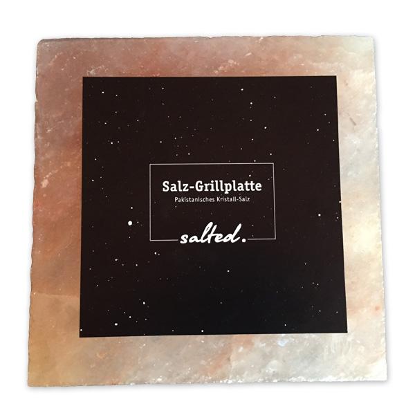 Salz-Grillplatte